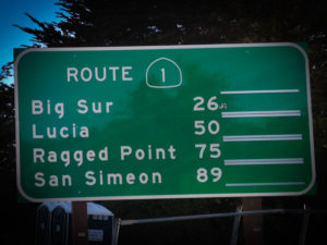 Big Sur sign